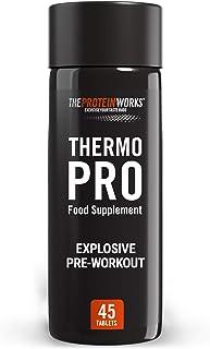 Pastillas Thermopro | Suplemento Pre-entreno con Cafeína | Reduce el Cansancio y la Fatiga | Ayuda a la Pérdida