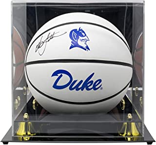 2257bb31f Christian Laettner Signed Duke Blue Devils Full Size Basketball JSA  w Deluxe Acrylic Display Case