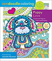 Puppy Love: Lovestruck Pups to Color and Display (Zendoodle Coloring)