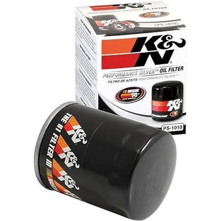 K&N Filtro de aceite de alta calidad: diseñado para proteger tu motor: se adapta a modelos de vehículos ACURA/HONDA/NISSAN/MITSUBISHI (ver descripción del producto para la lista completa de vehículos compatibles), PS-1010