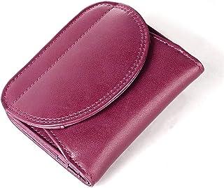 Carteras DiseñAdor Las Mujeres Carteras Cuero con Las SeñOras Bolsillo La Moneda A Corto Carpetas Cuero RFID Billfold
