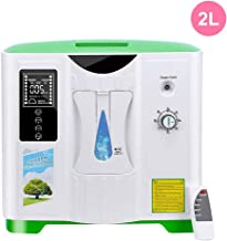 TTLIFE Portable Oxygen Concentrator 2-9L/min Adjustable Oxygen Machine for Home and Travel Use, AC 110V Humidifiers