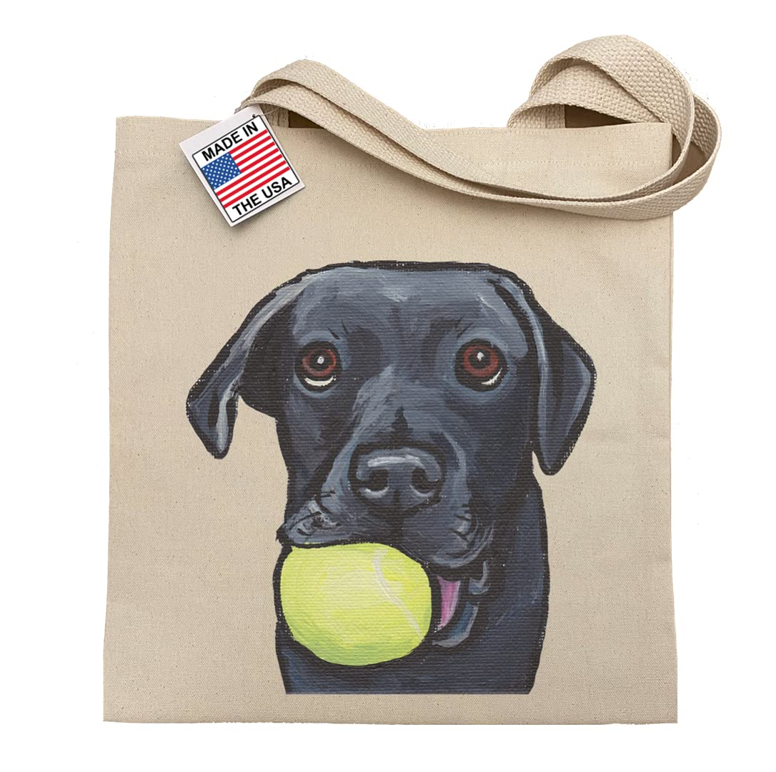 Black Lab Puppy Tote Bag gift Department Mail order store Ba Labrador lab