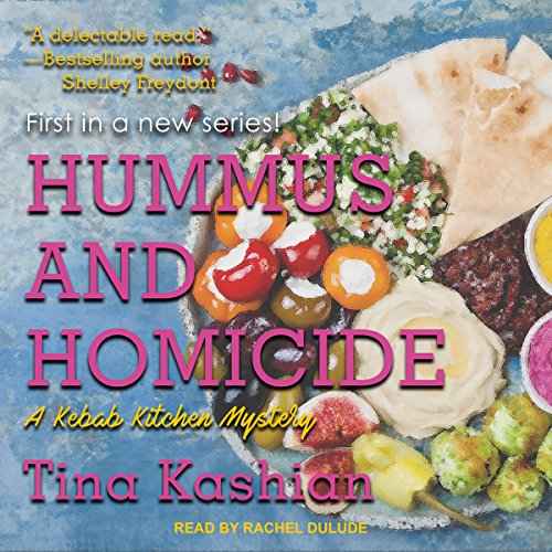 Hummus and Homicide audiobook cover art