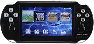 Sonmer PAP GAMETA 2 Plus Handheld Game Console,HD 4.3inch TFT Screen, Support all Arcade Games/GBA/SFC/GBC/GB/SEGA/FC: 64-Bit, With MP3, E-book, Video Function (Black)
