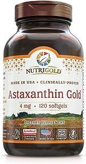NutriGold Astaxanthin 4mg Softgels