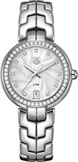 TAG Heuer Womens Link Stainless Steel & Diamond Watch WAT1316.BA0956