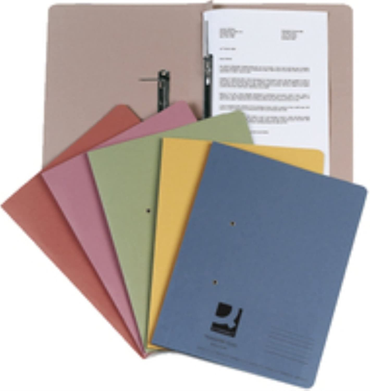 Q-Connect KF26057 Schnellhefter Folio-Format Folio-Format Folio-Format A4 35 mm Kapazität gelb B000NMBLVC | Berühmter Laden  51bf64