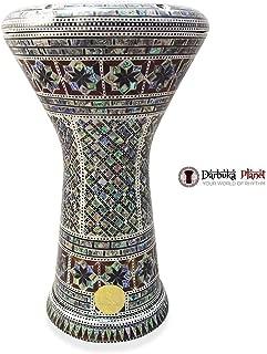 Gawharet El Fan 17 Mother of Pearl DarbukaBird-of-paradise Darbuka Drum Percussion