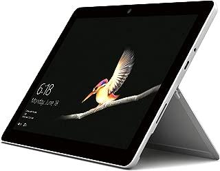 Microsoft Surface Go, 2-in-1 Laptop, Intel-Pentium Gold 4415Y, 10 Inch, 128GB SSD, 8GB RAM, Intel UHD Graphics 620, Windows 10, No Keyboard, Silver [Intl. Version]
