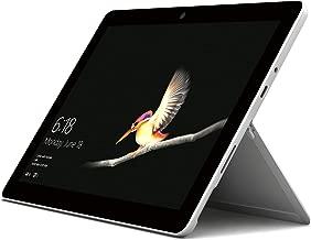 Microsoft Surface Go (MHN-00006), 2 in 1 Laptop, Intel Pentium Gold-4415Y, 10 Inch, 64GB eMMC, 4GB RAM, Intel HD Graphics, Windows 10, Silver [Middle East Version]