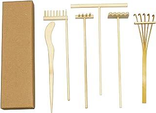 Mini Zen Garden Rake Kit - Meditation Sand Garden Zen Rake Tools - DIY Rock Zen Garden Kit Sets, Fidget Toy, Zen Garden Ac...