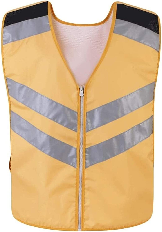 Quantity limited WOAIM Vis cheap Vest High Visibility Breathable Waistcoat and Light Se