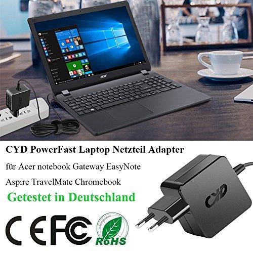 CYD 45W 65W Caricatore-Notebook-Alimentatore per
