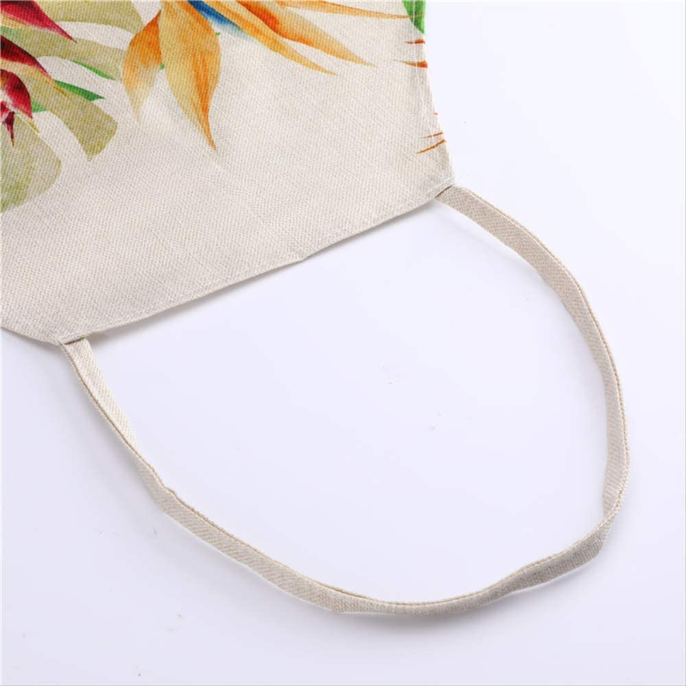 HBDG 1 Letter Pattern Kitchen Apron Sleeveless Cotton And Linen Children Apron Cooking Barbecue Barbecue Household Cleaning Tool 53 * 65 Cm Y S