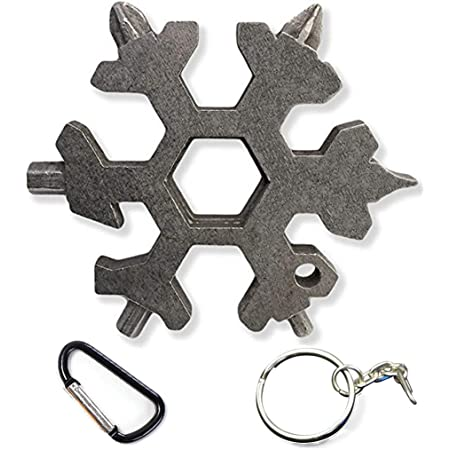 Phillips Standard 23 Functions Snowflake Multi Tool Keychain 6 Way Allen