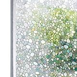 Homein Vinilo Ventana Electrostaticas Adhesivo Laminas Estático Anti UV Película Decorativa sin Pagamento de Cristal Arcoíris Fenómeno Traslúcido Fácil Desmontar y Reutilizar 90 * 200cm
