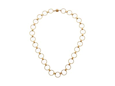 Alex and Ani 20 Calypso Magnetic Necklace (Rafaelian Gold) Necklace