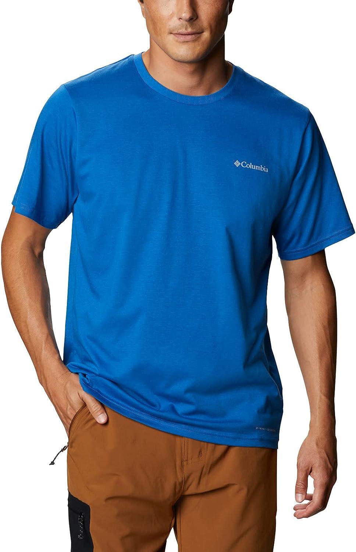 Columbia Men's Sun Trek 全国どこでも送料無料 Tee Sleeve Short 新色追加