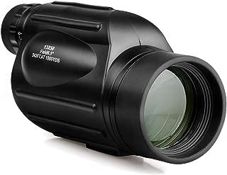 ZUEN Tr/ípode De Telescopio Monocular Negro 40X60 De Alta Potencia HD Telescopio Monocular A Prueba De Agua BAK4 Prisma para Adultos Ni/ños Caza Camping Conciertos Viajar