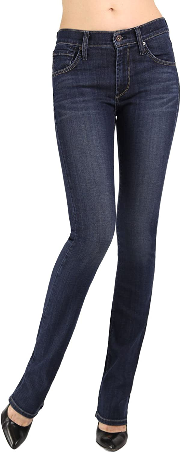 James Jeans Women's Hunter High In Straight-Leg Winter Jean Large special price !! Rise Manufacturer OFFicial shop