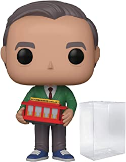 Funko Pop! Mister Rogers Neighborhood - Mr. Rogers Vinyl Figure (Bundled with Pop Box Protector Case)