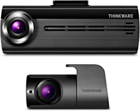 THINKWARE F200 Dash Cam Full HD 1080P with Rear Cam, 16GB MicroSD, Cigarette Power Cable Included | Optional Parking Mode with Hardwire | Built-in Wi-Fi | Supercapacitor | Support 128GB Max