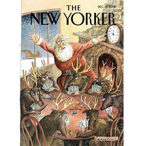 The New Yorker, December 17th, 2012 (Louis Menand, Dexter Filkins, Alex Wilkinson) cover art