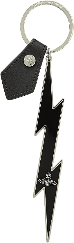 Lightning Bolt Keyring
