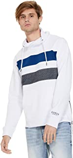 GUESS Factory Men's Willie Funnel-Neck Pullover