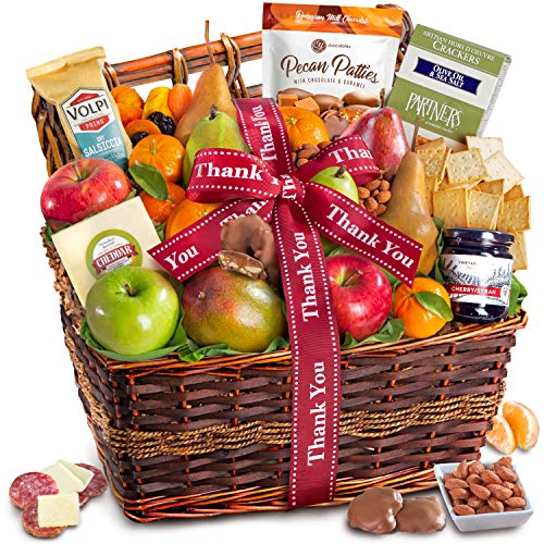 Thank You Teacher Abundance Gift Basket