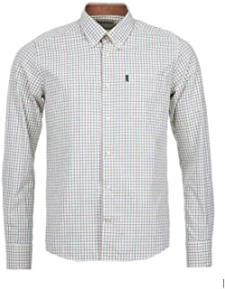 Barbour Charles Men's Tattersall Long Sleeve Shirt - Purple