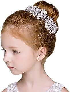 DreamYo Headdress Beading Girls Hair Accessories Ceremony Party Wedding