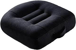 Odeer Car Seat Pad Heightening Height Boost Mat Portable Breathable Mesh, Ideal for Car Office,Home, Used All The Year