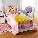 Disney Princess Belle Kids Girls Bedding Reversible TWIN/FULL Comforter