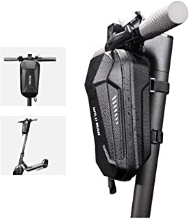 Womdee Scooter Handlebar Bag, Waterproof Scooter Front Hanging Storage Bag Fits For Electric Scooter/Electric Self-balancing Scooter/Electrical Folding Bike For Carrying Charger/Repair Tool/Phone/Keys
