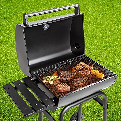 TecTake Barbacoa Barbecue Grill con Carbón Vegetal Parrilla Fumador - Varios Modelos - (BBQ Charcoal Grill | no. 401172)