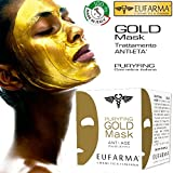 La Puryfing Gold Mask di EUFARMA è una maschera di bellezza 100% Made in Italy in grado di migliorare l'aspetto della pelle, con effetto antimicrobico, riduce l'eccessiva secrezione di sebo e rimuove punti neri e comedoni, rendendo di conseguenza la ...