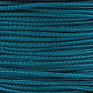 PARACORD PLANET Micro Cord 1.18mm Diameter 125 Feet Spool of Braided Cord - Available in a Variety of Colors Made in The USA (Dark Green)