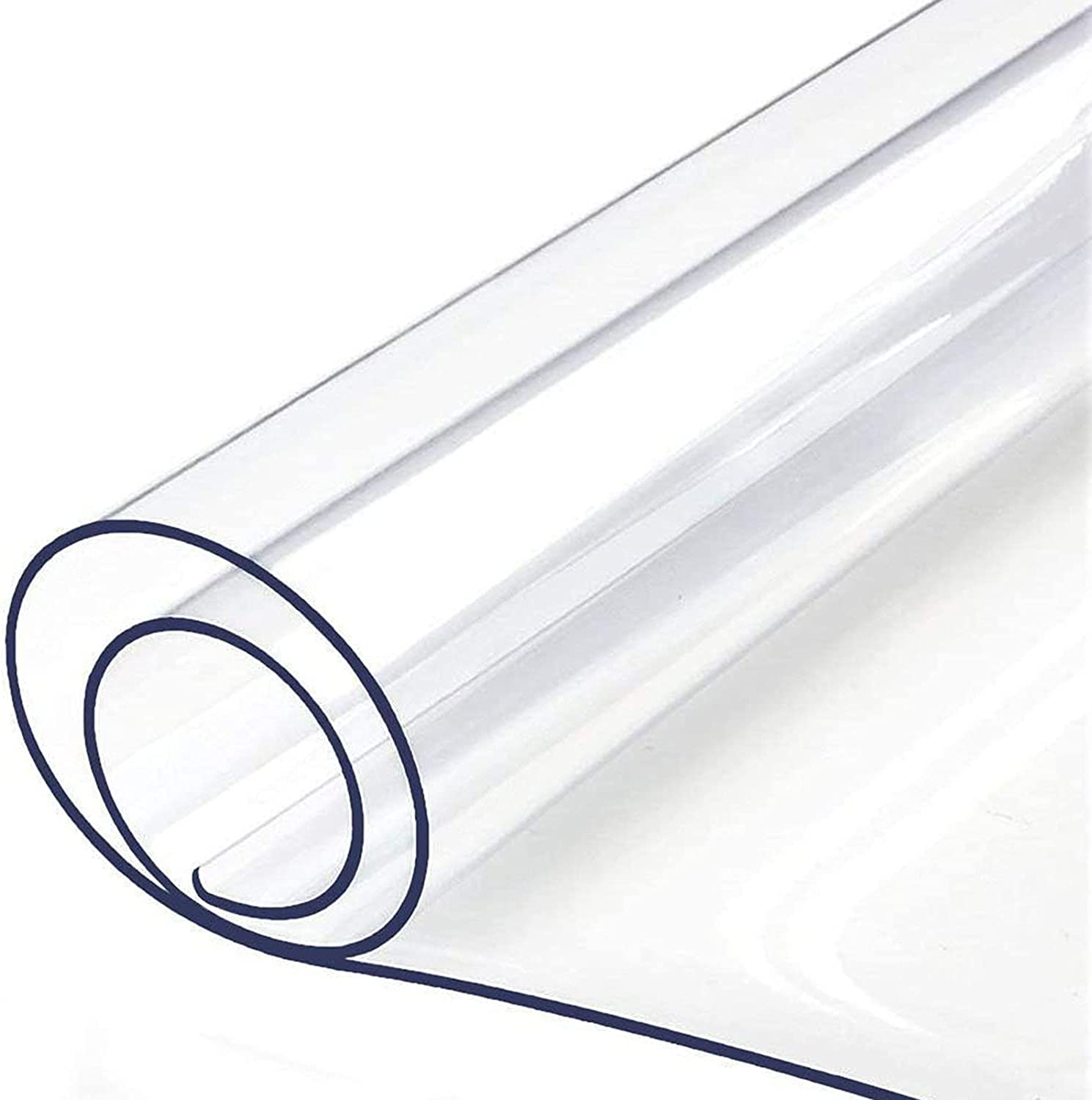 Max List price 90% OFF LKDF Clear Vinyl Rectangle Protector Tablecloth Waterproof Crys