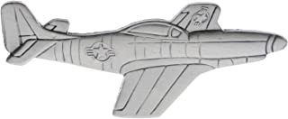 P-51 Mustang Fighter/Bomber (pewter) US Air Force Hat or Lapel Pin H16021D80