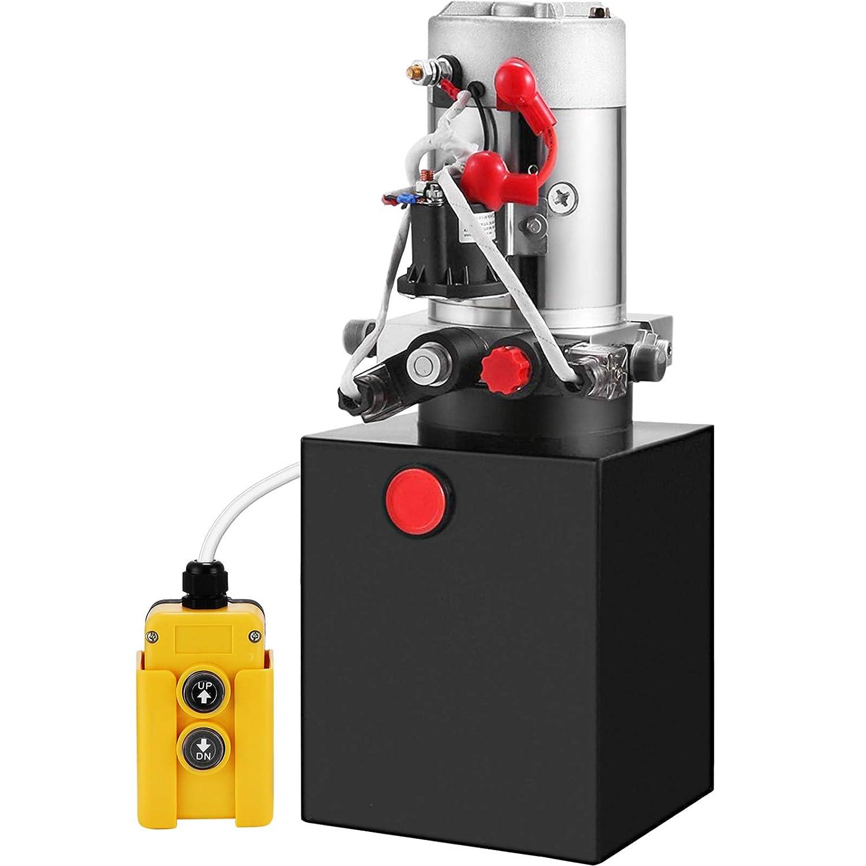 Max 75% OFF favorite Mophorn Hydraulic Pump 4 Quart Unit Double Power Actin