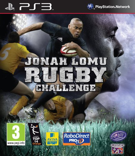 Jonah Lomu Rugby Challenge Game PS3 [UK-Import]