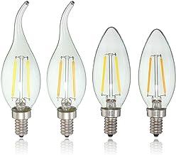 Bazaar E12 2W COB Edison gloeilamp LED kaars licht lamp AC110V