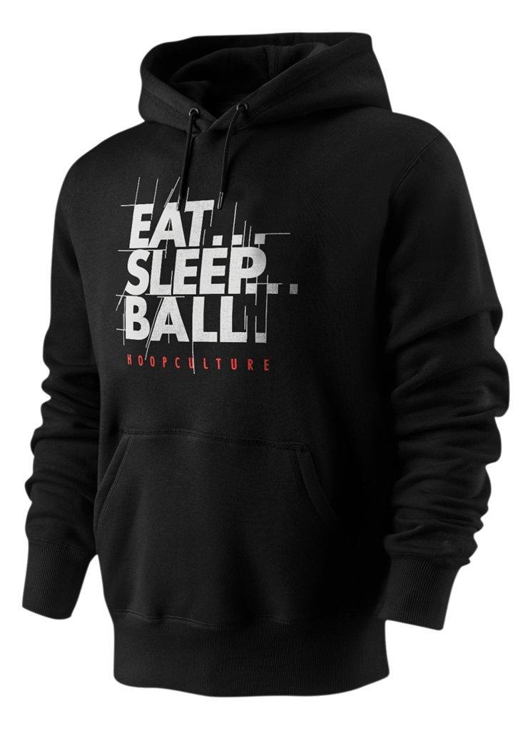 Mens HoopCulture Eat Sleep Ball Classic Basketball Pullover Aesthetic Hoodie