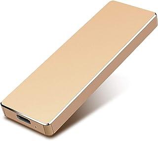 قرص صلب خارجي سعة 1 تيرا بايت 2TB-محرك الاقراص الصلبة خارجي USB3.0 قرص صلب فائق النحافة لجهاز ماك والكمبيوتر المحمول والكم...