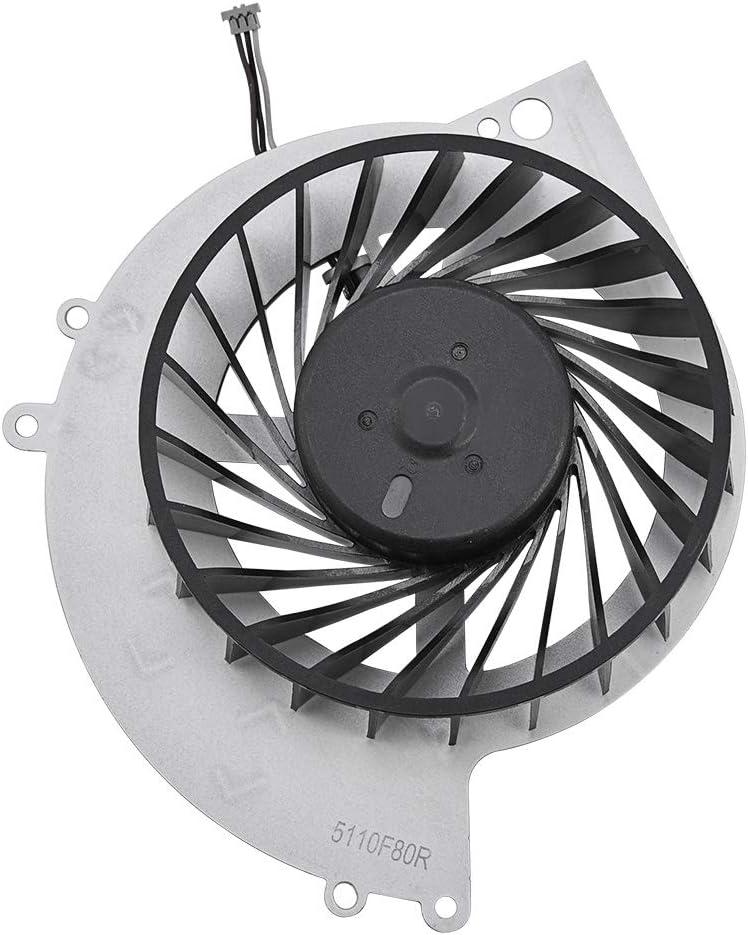 Pieza de repuesto del ventilador interno de refrigeración de la CPU para la consola de juegos PS4-1000, ventilador interno de refrigeración de la CPU bastante más frío para la disipación de calor.
