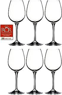RCR Cristalleria Italiana Invino Crystal Glass Drinkware Set (Wine [12.75 oz.])