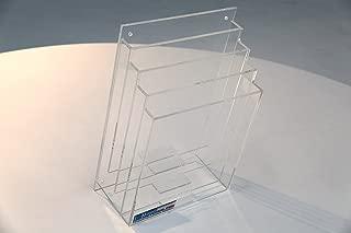 Terra Universal 4005-25 Cleanroom File Holder, Type A, 4 Slot