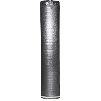 AMERIQUE AMSLV3MM1R Silver 200SQFT Premium 3MM Thick Super Quiet Floor Underlayment Padding with Tape & Vapor Barrier 3-in-1 Heavy Duty (1 ROLL / 200 SQFT), Square Feet
